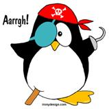 Pirate Penguin T-Shirts & Gifts