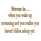 Stress is when ...