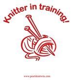 Knitter in Training