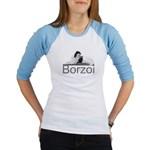 Borzoi Lounging