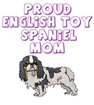 Proud English Toy Spaniel Mom