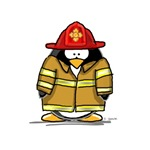 Fire Rescue Penguin