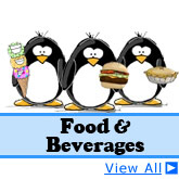 Food and Beverage Penguins