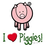 I heart piggies