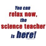 Relax, science teacher here