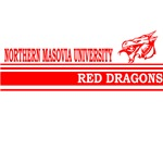 Northern Masovia University Red Dragons Stripes