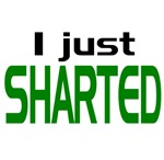 SHARTED, I JUST SHARTED MOVIE QUOTE T SHIRT SO COM
