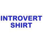 Introvert Shirt - Blue