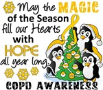 Christmas Penguins COPD Gifts and Shirts
