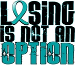 Losing Is Not an Option Interstitial Cystitis Tees