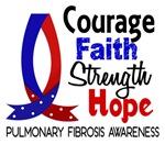 Courage Faith 1 Pulmonary Fibrosis Merchandise