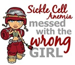 Combat Girl 1 Sickle Cell Anemia Tees