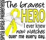 Bravest Hero Spina Bifida T-Shirts