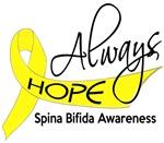 Always Hope Spina Bifida T-Shirts