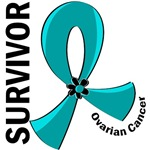 Survivor 12 Ovarian Cancer T-Shirts and Gifts
