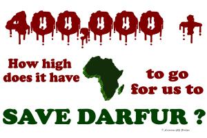 400,000+ (Darfur) 1