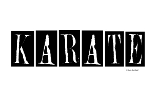 KARATE T-Shirts, Gifts, & Merchandise