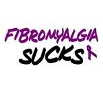 Fibromyalgia Sucks T-Shirts Apparel Gifts