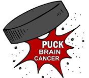 """PUCK"" Brain Cancer 1 Shirts & Apparel"