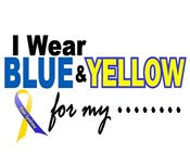I Wear Blue & Yellow For....2