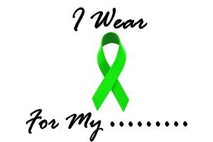 I Wear Lime Green Non-Hodgkins Lymphoma Shirts