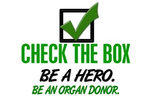 Check The Box Collection Organ Donation Shirts