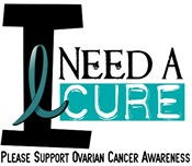 I Need A Cure OVARIAN CANCER T-Shirts & Gifts