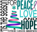 Christmas 1 Thyroid Cancer Cards Ornaments Gifts