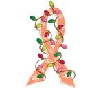 Christmas Lights Ribbon Endometrial Cancer Gifts