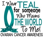 Means World To Me 1 Ovarian Cancer Shirts