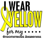 I Wear Yellow 10 Endometriosis T-Shirts, Gifts, Me