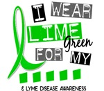 I Wear Lime Green 37 Lyme Disease Shirts