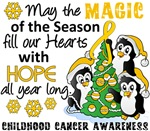 Childhood Cancer Christmas Cards and Gifts