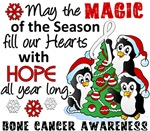 Bone Cancer Christmas Cards and Gifts
