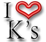 I Heart K Names