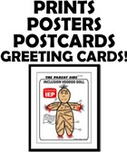 Voodoo Doll Prints, Poster & Cards