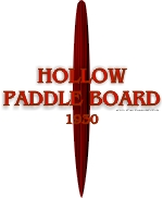 1930 Hollow Paddle Board