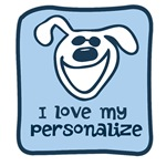 Personalized Love My Dog Design