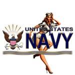 USN Navy Pin Up Babe