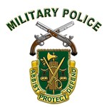 US Army Military Police Crest