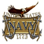 US Navy Anchors and Eagle
