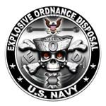 USN Explosive Ordnance Disposal Skull EOD