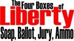 The Four Boxes of Liberty