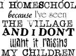 I Homeschool Because