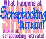 Scrapbooking Retreats Shhh!