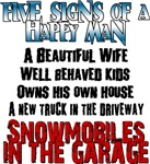 Five Signs of a Happy Man