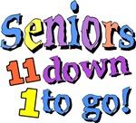 Seniors 11 Down, 1 To Go