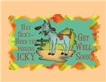 Goat Get Well-HaySicky