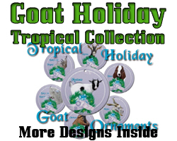 Tropical Holiday Goat Collection