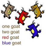 Red Goat Blue Goat